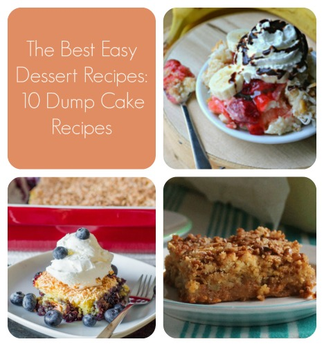 the best easy dessert recipes 20 dump cake recipes