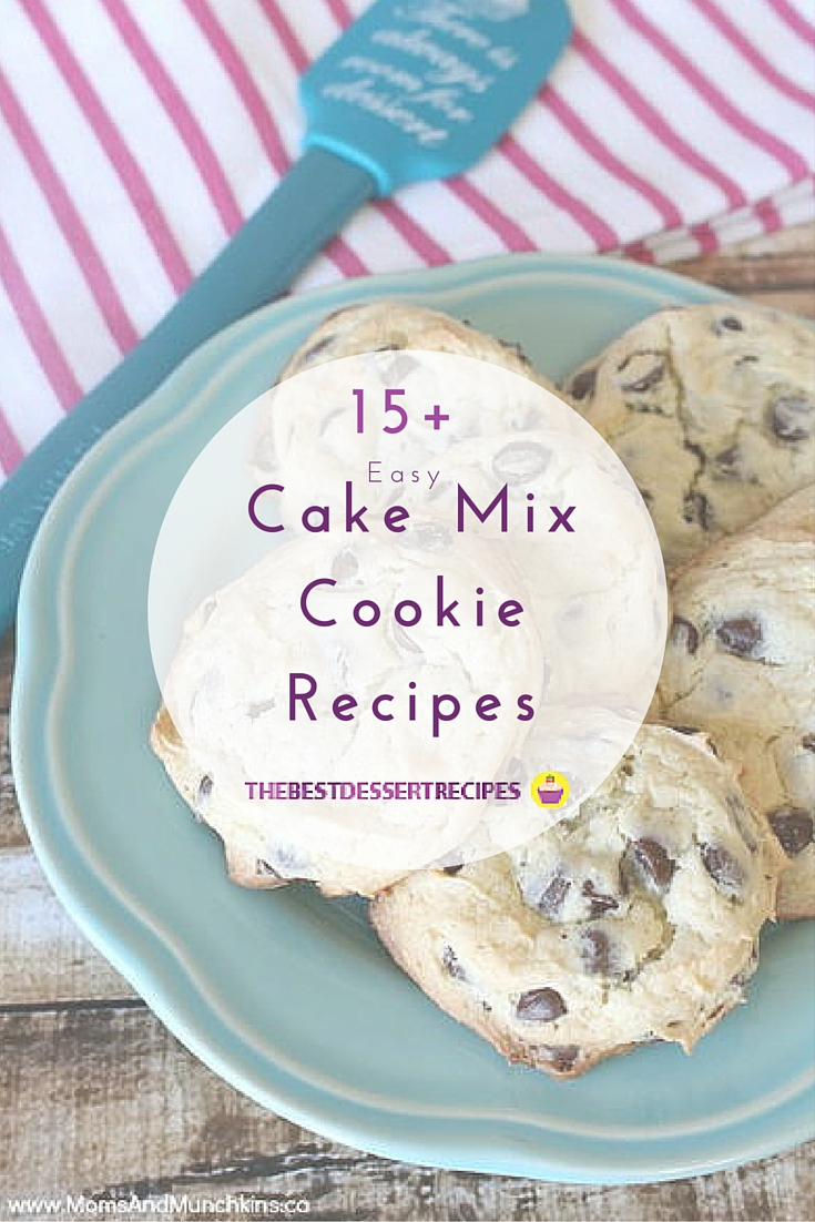How To Make A Big Cookie Out Of Cake Mix
