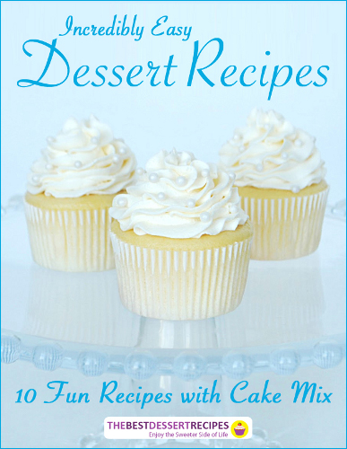 Incredibly Easy Dessert Recipes eBook
