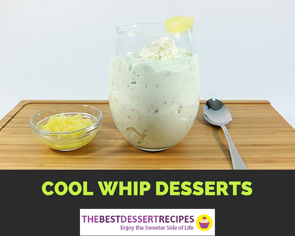 25 Cool Whip Desserts You'll Love